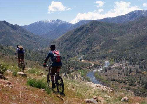 The Kern River Sierra Mountain Bike Trails And Rides The