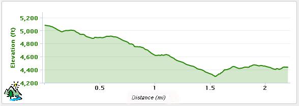 Rocky Gulch Trail in the Kern River Sierra on