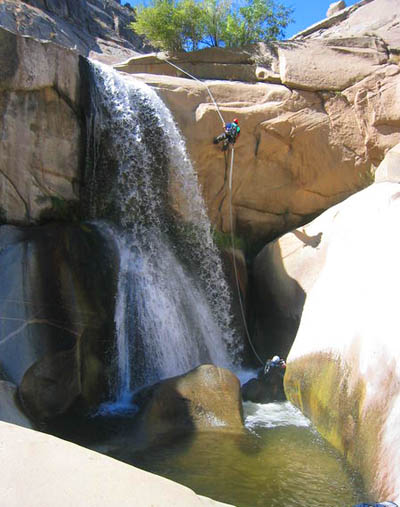 Canyoneering 7 Teacups from Ropewiki