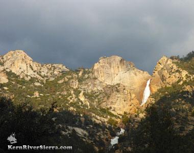 Rincon Trail To Salmon Creek Falls View In The Kern River