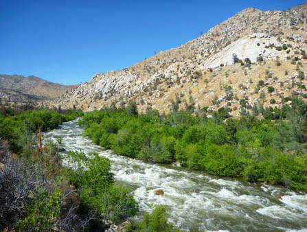 The Kern River - Cable Rapid - from Whiskey Flat Trail